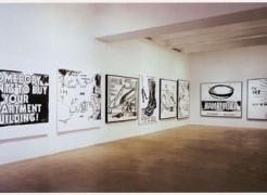 ANDY WARHOL Black & White Paintings 1985-86