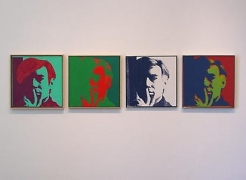 ANDY WARHOL Self-Portraits 1963 - 1986