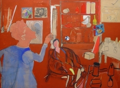 Anne Tabachnick: Painting About Paintings, 1965- 1995