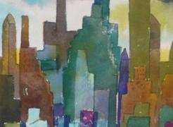Romare Bearden: City Lights