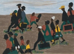 One-Way Ticket: Jacob Lawrence's Migration Series and Other Works