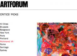 "Press on Carolyn Case: Artforum, ""Critics' Pick"" by Andy M. Clark"