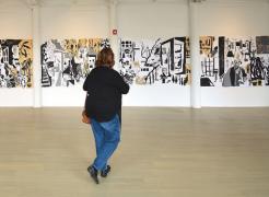 drawing installation