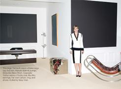 W Magazine features Gallery Partner Suzanne Demisch