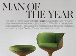 Pierre Paulin and Demisch Danant Featured in Cultured Magazine