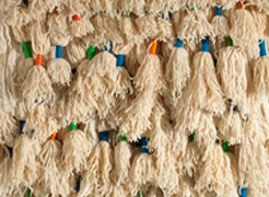 "Sheila Hicks  ""In The Carpet"" Exhibition"