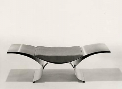 Metropolitan Museum of Art acquires Wave Bench by Maria Pergay