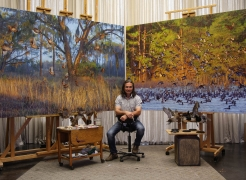 THE ART OF CONSERVATION,  Guest Speaker: John Banovich, Artist/Conservationist