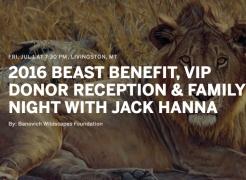 Beast Benefit 2016