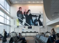 Mondrian Meets the Beatles