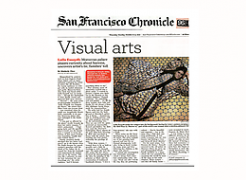Kimberly Chen speaks with Lalla Essaydi for the San Francisco Chronicle