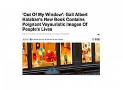 HuffPost Books endorses Gail Albert Halaban: Out My Window series post NY storm
