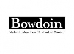 Abelardo Morell's lecture at Bowdoin