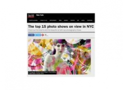 Valérie Belin in Time Out New York