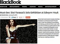 Sissi Farassat in BlackBook Magazine