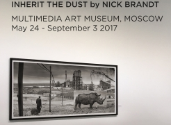 "Nick Brandt ""Inherit the Dust"" opens at Multimedia Art Museum, Moscow"