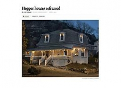 "The Boston Globe reviews Gail Albert Halaban's ""Hopper Redux"" exhibition at Cape Ann Museum"