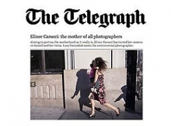The Telegraph features and interviews Elinor Carucci