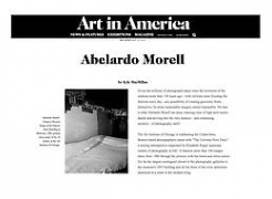 Art in America on Abelardo Morell