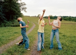 Photos of rebellious teen girls in the 90s and 00s exploring wild America