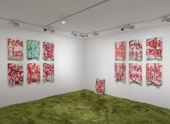 Pope.L: Notations, Holes and Humour at Modern Art Bury Street, London