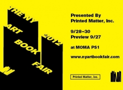 New York Art Book Fair 2012