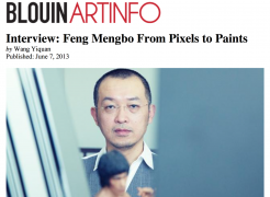 Interview: Feng Mengbo From Pixels to Paints, by Wang Yiquan