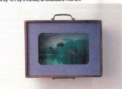 Hong Lei at Chambers Fine Art, by Derek Conrad Murray