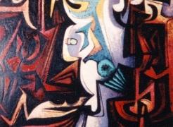 EMIL BISTTRAM (1895-1976)