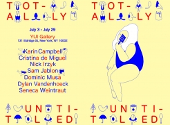 Totally Untitled at YUI Gallery