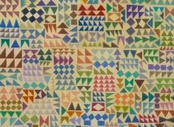 Helen Miranda Wilson: Kuba Cuneiform Quilts