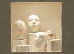 Jonathan Shahn: Six Plaster Boxes