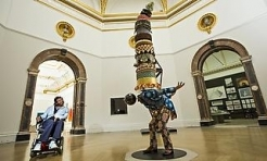 Yinka Shonibare MBE at Royal Academy
