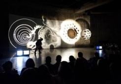 Aldo Tambellini at the 56th Biennale di Venezia