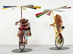 YInka Shonibare, MBE at the Santa Barbara Museum of Art
