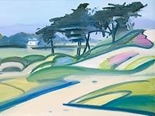 HANK PITCHER , Study for the Good Land 4 (Sands Beach)