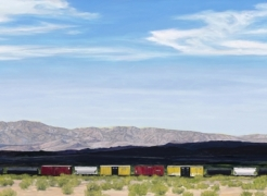 MARY-AUSTIN KLEIN, Mojave Freight - Pisgah Crater, 2020