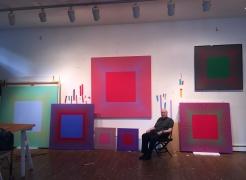 Richard Anuszkiewicz: Centered Squares