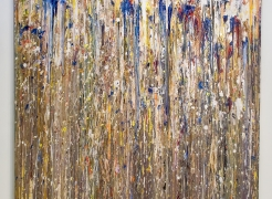 Larry Poons: Throw, Pour, Drip, Spill & Splash