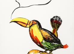 Raymond Pettibon, Untitled (Toucan)