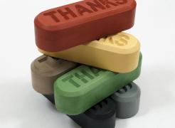 Allan McCollum, Visible Markers (Thanks)