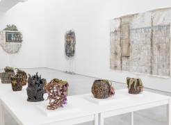 Installation view, 'Valerie Hegarty: Bloom & Gloom', New York, 2018