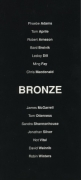 November - December 'Bronze' 1991 Exhibition Announcement