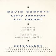 David Cabrera, Larry Johnson, Liz Larner
