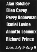 Alan Belcher, Ellen Carey, Perry Hoberman, Daniel Levine, Annette Lemieux, Richard Prince