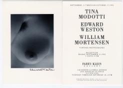 Tina Modotti / Edward Weston / William Mortensen