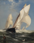 Inside and Out:19th Century American Genre, Marine, and Still Life Paintings