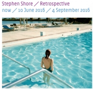 Stephen Shore Retrospective at Huis Marseille Museum