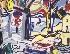 Roy Lichtenstein: Brushstrokes: Four Decades