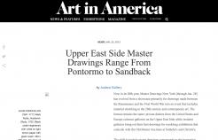 Art in America: Upper East Side Master Drawings Range From Pontormo to Sandback